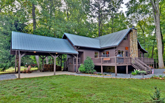 Trout Run Cabin Blue Ridge GA-small-001-Exterior-666x417-72dpi