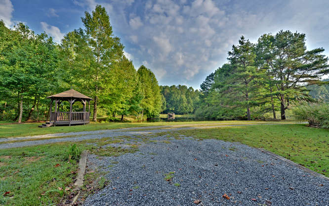 Trout Run Cabin Blue Ridge GA-small-026-Pond View-666x417-72dpi